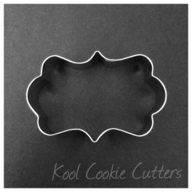 Rectangle Fancy Frame - Small 3 1/2 inch