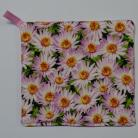 Pink Everlastings Pot Holder