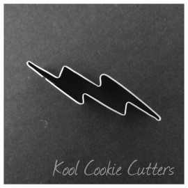 Mini Lightning Bolt 2 inch