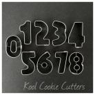 Mini Numbers Set in Tin 9 pc