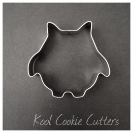 Owl - Round - Large Cookie Cutter