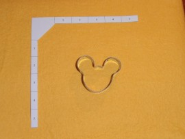 Mouse Head - Small 2 inch