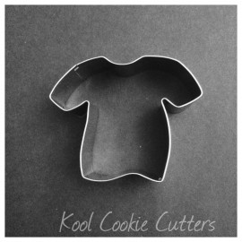 Small T-Shirt Cookie Cutter 3 inch wide